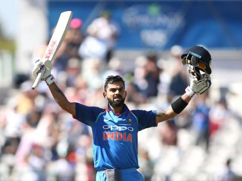 Virat Kohli es un jugador de cricket indio