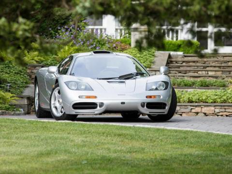 20. McLaren F1 de 1995: vendido por 15,62 millones de dólares por Bonhams en 2017 [RE]