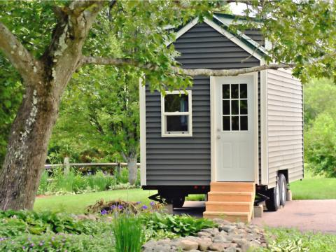 In 2013, the Caravan Tiny House Hotel opened in Portland, Oregon, and reality TV shows Tiny House Nation and Tiny House Hunters debuted the following year, putting tiny living in a national spotlight.
