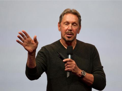 """Wealth isn't the same thing as intelligence."" — Larry Ellison, cofounder and CEO of Oracle"