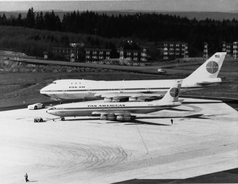 The 747's size, performance, and efficiency helped lower operating costs for airlines enough to make air travel affordable for the masses.