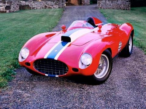 8. Ferrari 410S de 1955: vendido por 23 millones de dólares por Rick Cole Auctions en 2014 [RE]