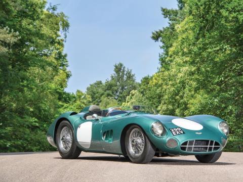 9. Aston Martin DBR1 de 1956: vendido por 22,5 millones de dólares por Sotheby's en 2017 [RE]