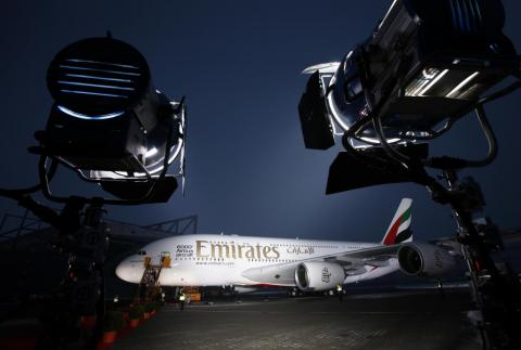 Emirates accounts for 123 of the 274 of the A380s ever ordered.