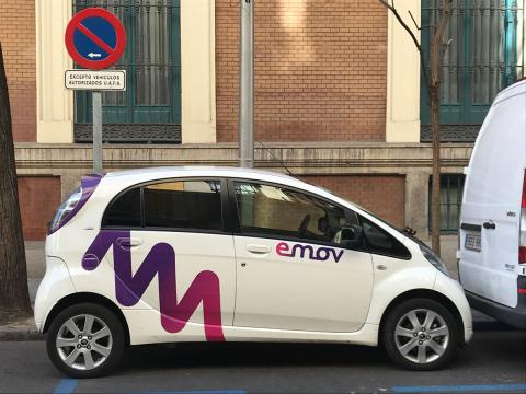 Alquiler coches electricos madrid