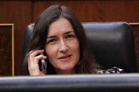 Ángeles González-Sinde, ministra de Cultura entre 2009 y 2011