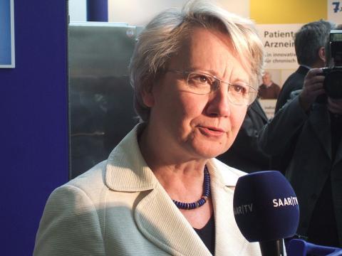 Annette Schavan, exministra de Educación alemana