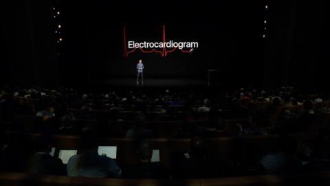 Apple Watch Series 4 Electrocardiograma