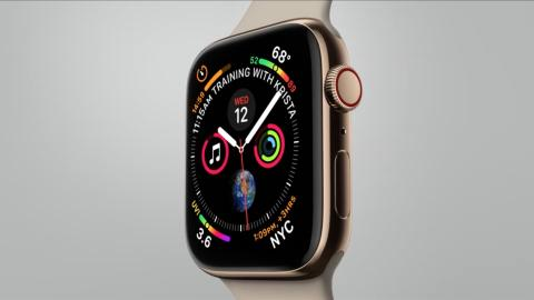 Apple Watch Series 4 video