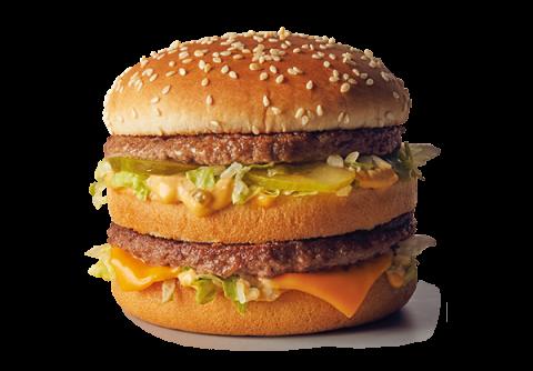El Big Mac, la hamburguesa más conocida de McDonalds