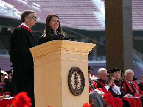 Bill and Melinda also prioritize education. The Gates Foundation established the Gates Millennium Scholars Program, which has received $1.6 billion.