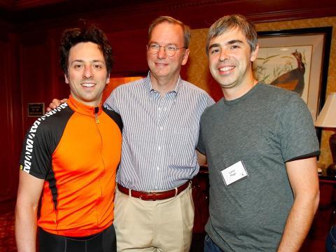 Brin, Schmidt y Page.