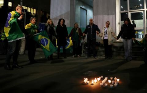 Calles de Brasil en las campañas políticas