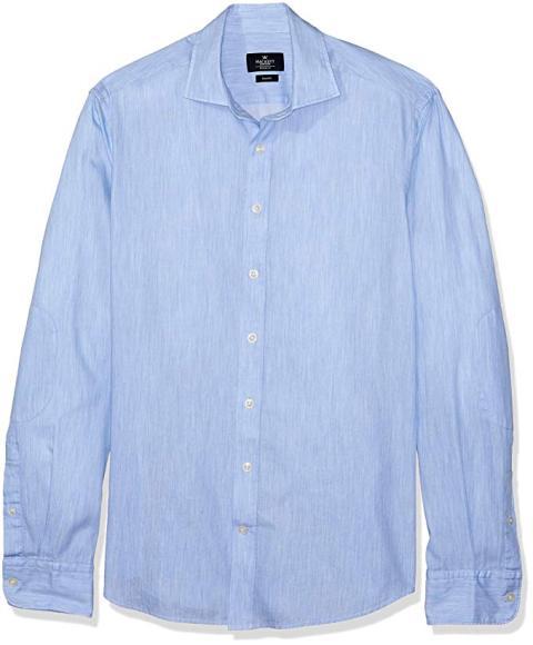 Una camisa de hombre de algodón de marca Hackett