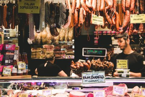 Carne supermercado