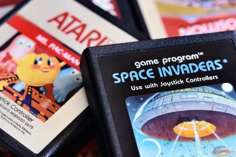 Cartuchos de videojuegos clásicos