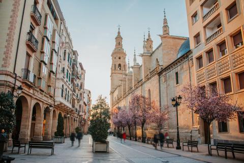 La catedral de Logroño (La Rioja)