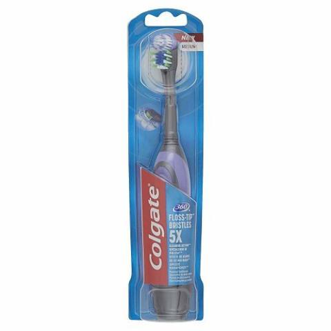 Un cepillo de dientes eléctrico Colgate Actibrush