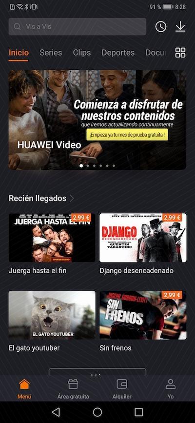 Contenidos Huawei Video