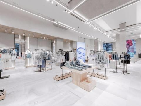 An example of Zara's store layout in one of its stores in Bilbao, Spain.