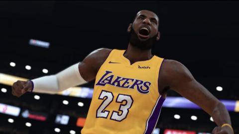 "Using Stadia's Crowd Play feature, players could join a game of ""NBA 2K19"" while watching their favorite streamer."