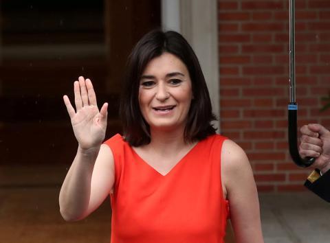 Dimisión de Carmen Montón