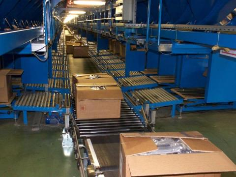 This Zara distribution center is the largest of four in Spain and ships products to Zara's 2,238 stores.