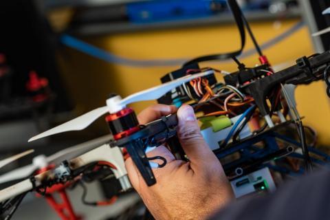 Drones para detectar gases