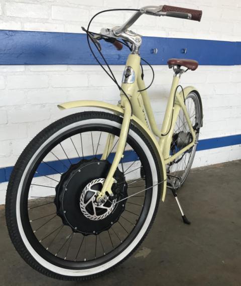 accesorio para convertir cualqueir bici eléctrica