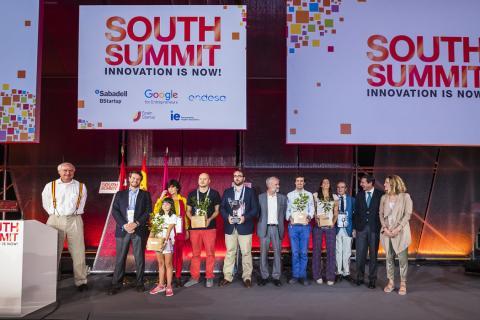 Los ganadores del South Summit Global Winners de 2017