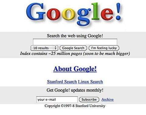Google is 20 years old — here's what it looked like when it first launched