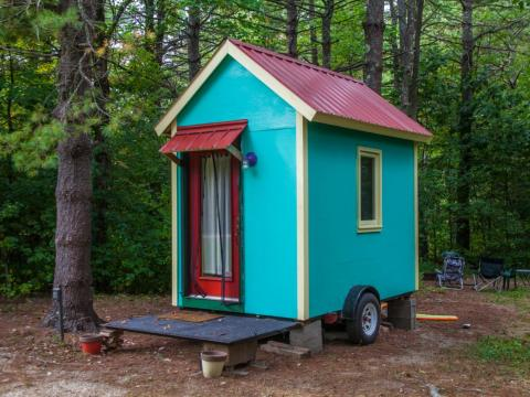 """Here, on the inside, we have found small not so beautiful after all,"" wrote tiny home dweller Gene Tempest in The New York Times. ""Like the silent majority of other middling or poor urban dwellers in expensive cities, we are"