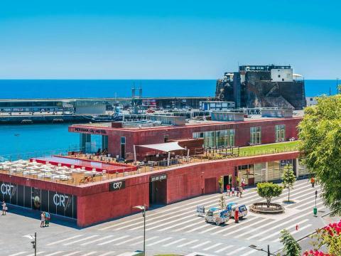 El hotel Pestana CR7 de Funchal