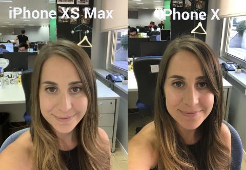 iPhone X y iPhone XS Max selfie smarthdr desactivado