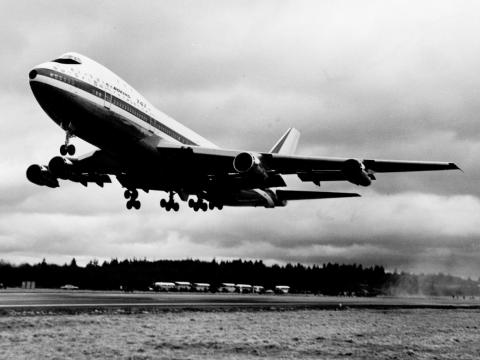 It spent the decade trying to break into a market dominated by the Boeing 747 jumbo jet.