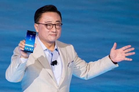 Koh, the president of Samsung's mobile-communications business.