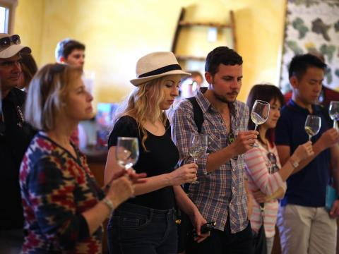 But with its more than three million visitors per year, Napa can quickly get overcrowded and overpriced. Wine tastings in the region have traditionally cost between $5 and $50, but high-brow tastings in swanky venues that cost up