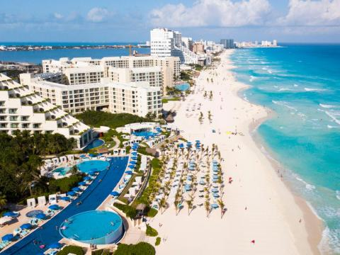 With its sandy beaches and abundance of all-inclusive resorts, Cancún, Mexico, has the trappings of an idyllic beach vacation.