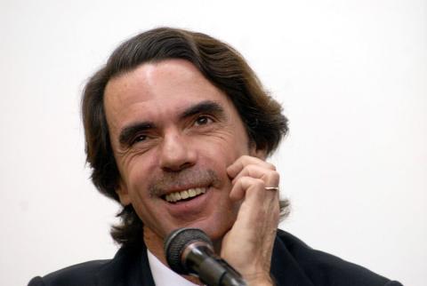 José María Aznar, presidente del Gobierno entre 1996 y 2004