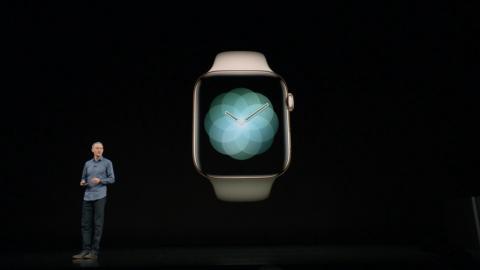 Keynote Apple 2018: Watch Series 4