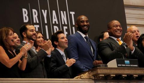 Kobe Bryant, en la presentación de Bryant-Stibel