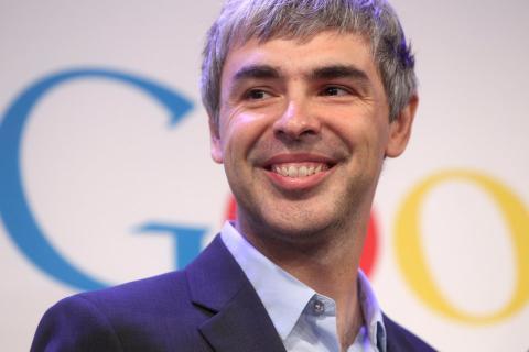 Larry Page, uno de los fundadores de Google.