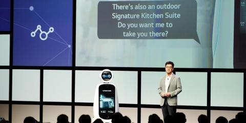 Presentación de LG en IFA 2018