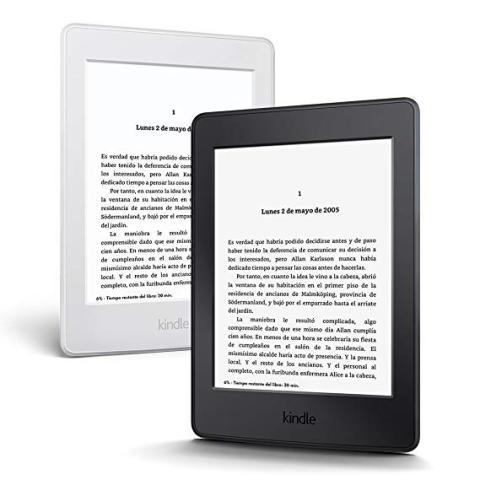 El libro electrónico Kindle Paperwhite, de Amazon
