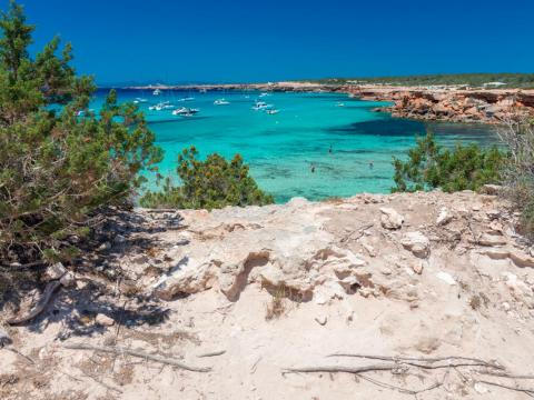 The main day trip near Ibiza is the beautiful island of Formentera, which has spectacular nature, diving, and wildlife.