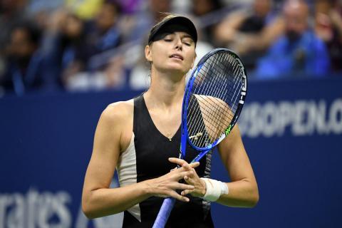 Maria Sharapova, durante el US Open