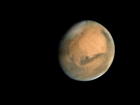 Mars is about 140 million miles from Earth.