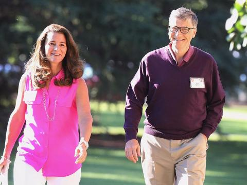 """Melinda Gates didn't think her future husband was """"spontaneous"""" enough at first."""