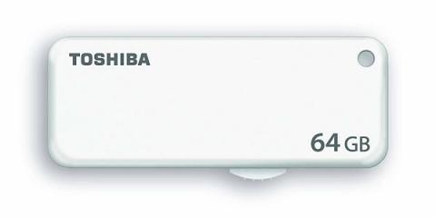 Una memoria flash de 64 GB de Toshiba