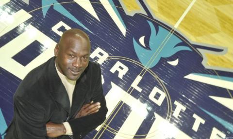 Michael Jordan, cuando compró la mayoría de los Hornets